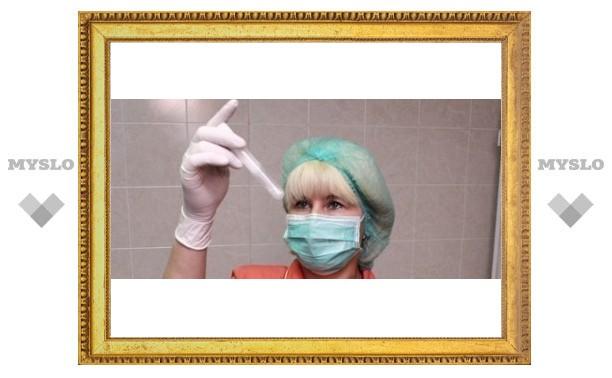 265 туляков заболели свиным гриппом