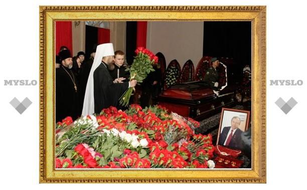 Василий Стародубцев похоронен под Новомосковском