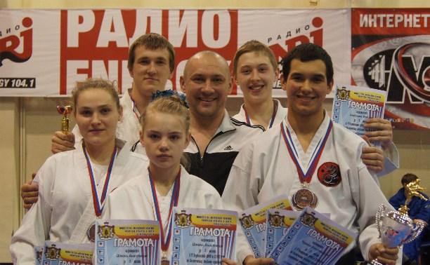 Тульские каратисты завоевали 13 наград на первенстве ЦФО