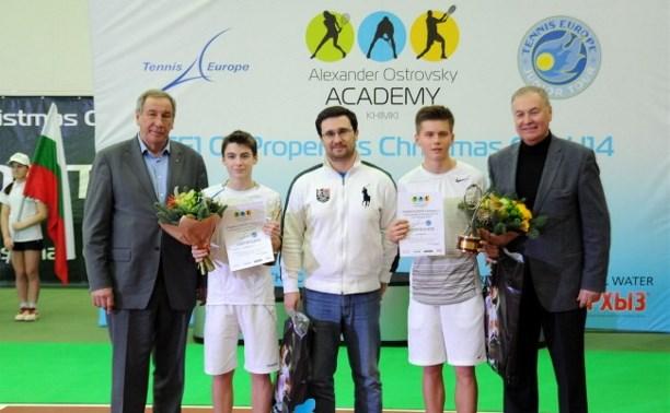 Тульские теннисисты достойно представили нашу страну на турнире в Москве