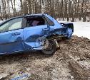 На дороге Тула – Новомосковск Ford протаранил Chevrolet
