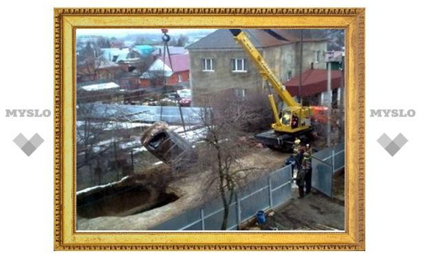 В Туле заканчивают ремонт коллектора в Мяснове