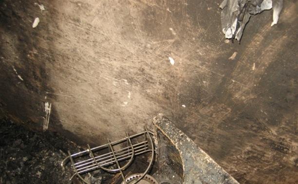 На Косой горе загорелся частный дом