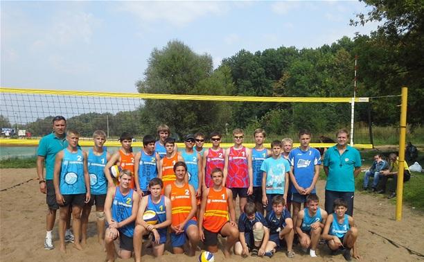 Юные туляки отличились в пляжном волейболе