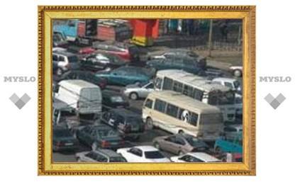 Где в Туле сейчас пробки?