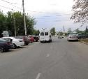 В Новомосковске мотоциклист сбил школьницу