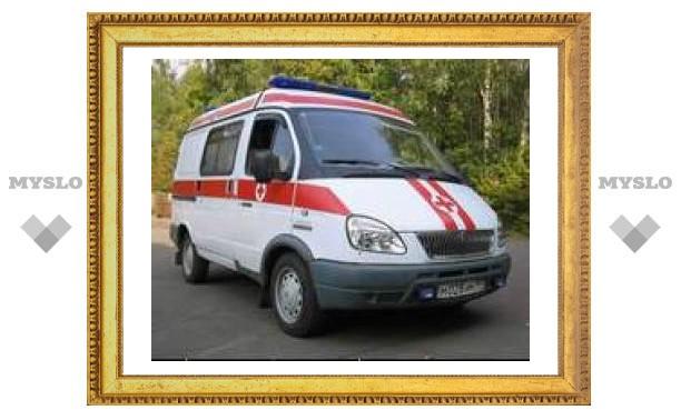 """В Тульской области """"Форд"""" протаранил автобус"""