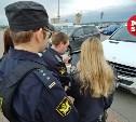 В Туле приставы и налоговики начали искать должников на парковках супермаркетов