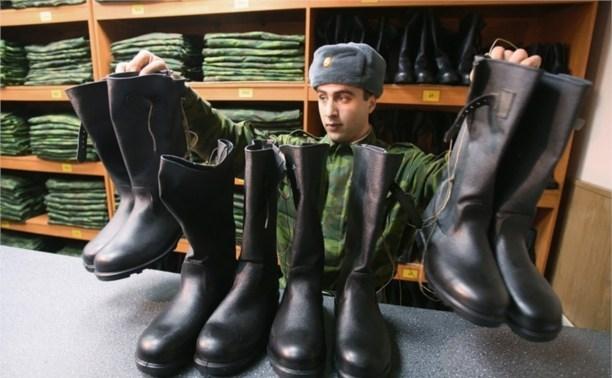 Около 1500 молодых туляков призвали в армию прошлой осенью