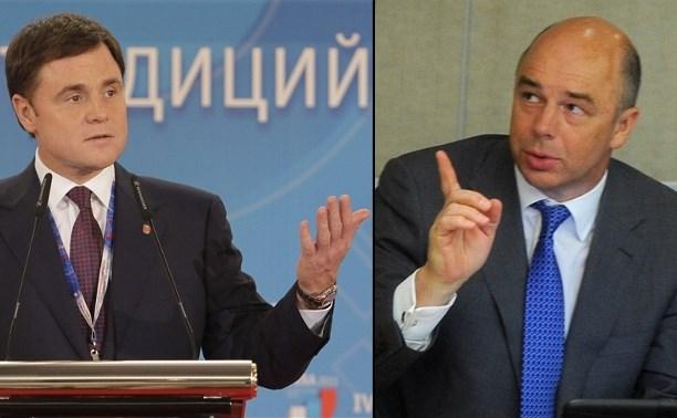 Сменит ли Антон Силуанов Владимира Груздева на посту губернатора Тульской области?