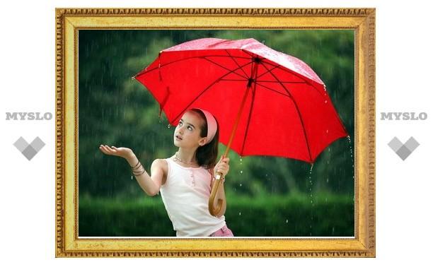 На выходных в Туле будут идти дожди