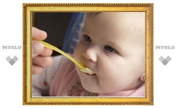 Из магазинов Тулы пропадет импортное детское питание
