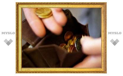 Трудоспособный туляк должен жить на 6 тысяч рублей в месяц