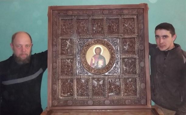 Икона мастеров из колонии №1 Донского победила на Всероссийском конкурсе