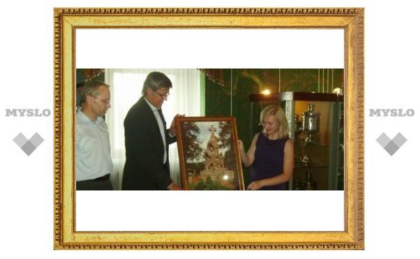 Чехи подарили Туле искусство земляка