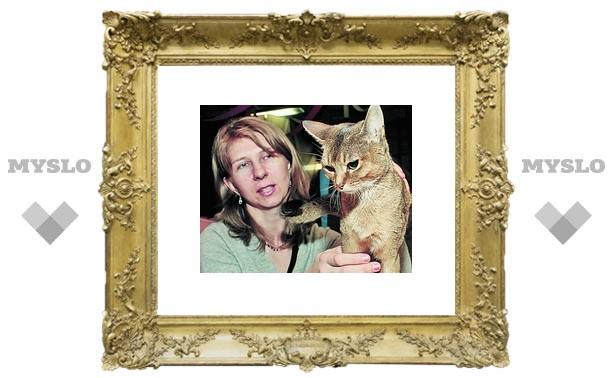 В Туле выбрали лучшую кошку России