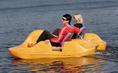 В Центральном парке откроют прокат катамаранов и лодок