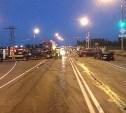 На Калужском шоссе столкнулись четыре автомобиля