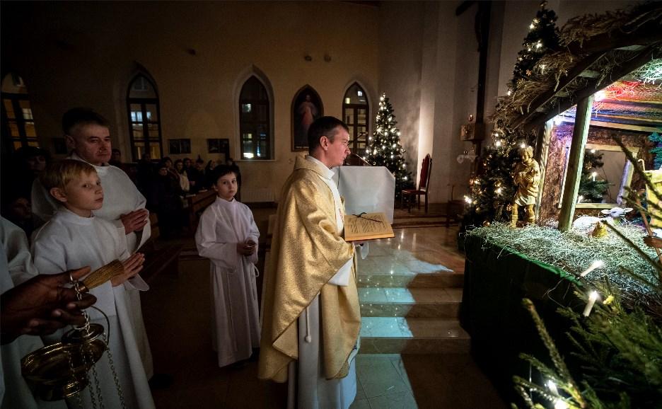 Тульские католики встретили Рождество