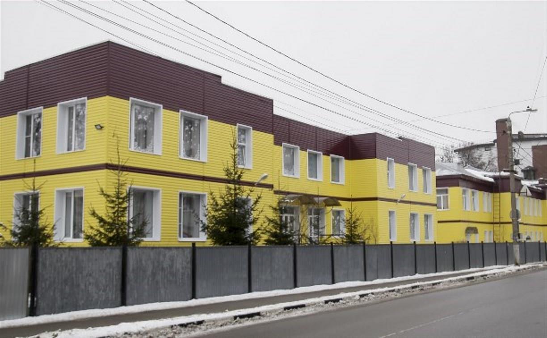Руководство Тульского дома ребенка хочет через суд узаконить желтый цвет фасада