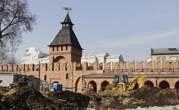 Тульский кремль частично закроют для посещения до сентября 2014 года