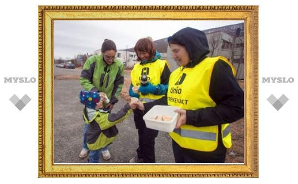 Норвежские бюджетники вышли на первую за 28 лет забастовку