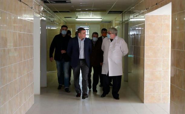 Отделение Щекинской больницы переоборудуют под госпиталь для пациентов с коронавирусом