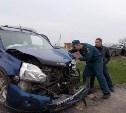 При столкновении иномарок в Ефремовском районе пострадали двое детей