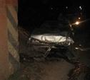 Недалеко от Тулы иномарка протаранила опору моста