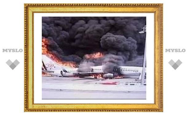 В аэропорту Алма-Аты потерпел крушение частный самолет