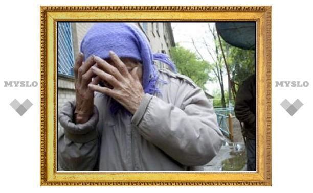 38-летний туляк избил пенсионерку