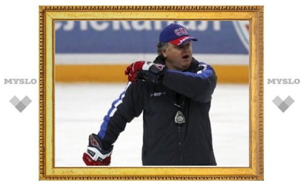 Главный тренер СКА отправлен в отставку