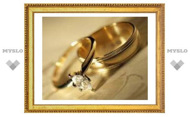 Туляки женятся в 2,5 раза чаще, чем разводятся