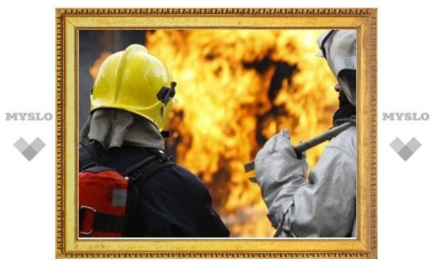 В Тульской области обнаружили обгоревший труп мужчины