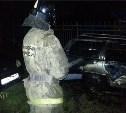 Ночью в Пролетарском районе сгорели три автомобиля