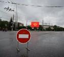 В Туле из-за «Театрального дворика» ограничили движение транспорта