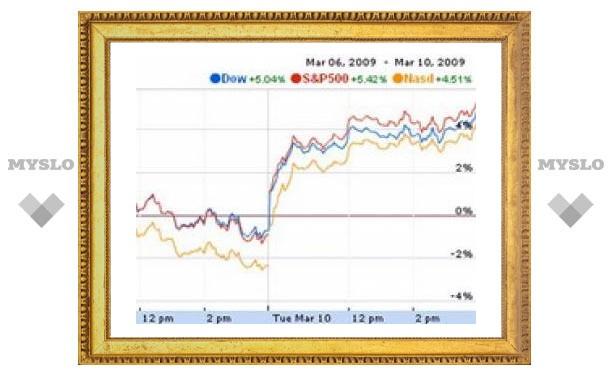 Фондовые индексы всего мира резко выросли