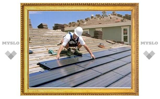 В тульских домах починят крыши