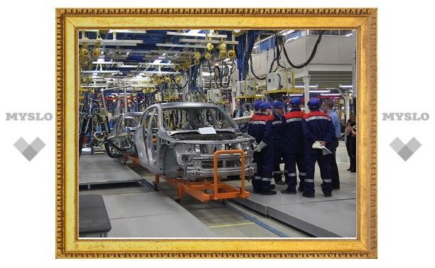 Из-за Тульских пожаров остановили конвейер Volkswagen