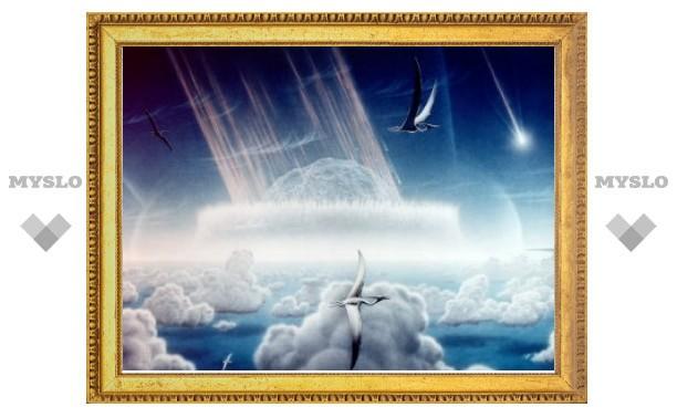 Древний метеорит поразил преимущественно Северное полушарие