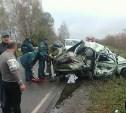 В аварии на автодороге «Тула-Белёв» погибли женщина и ребенок