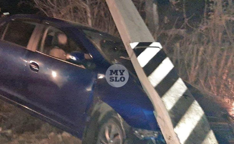 В Ревякино пьяный подросток влетел в столб на машине бабушки