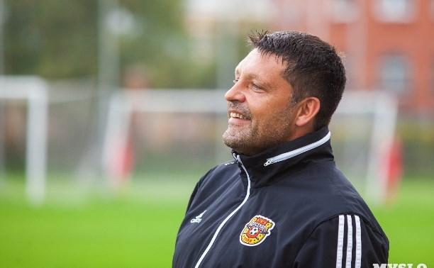 Алексей Дюмин поздравил главного тренера «Арсенала» с днем рождения