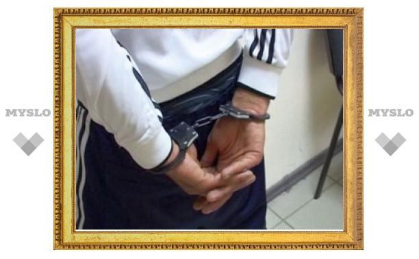 В Туле полицейские сняли с поезда пытавшегося скрыться от правосудия грабителя