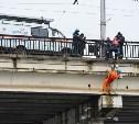 Тульские спасатели провели учения на набережной Дрейера