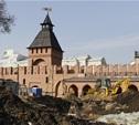 Строительство колокольни Успенского собора закончат к маю