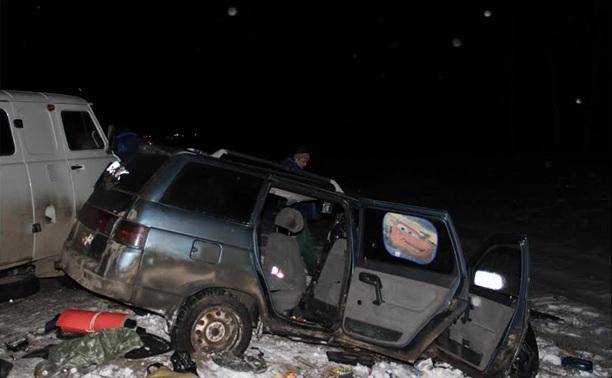 В ДТП в Веневском районе погибли два человека