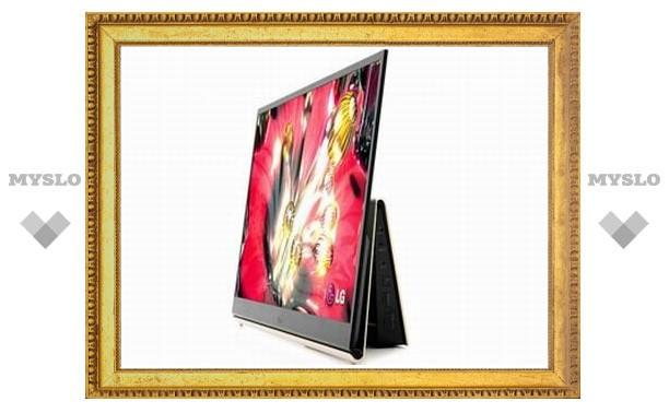LG выпустила OLED-телевизор с диагональю 15 дюймов