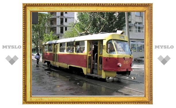 В Туле с 12 по 16 сентября трамваи №12 изменят маршрут