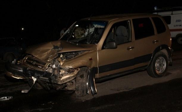 В аварии на Орловском шоссе пострадали четыре человека
